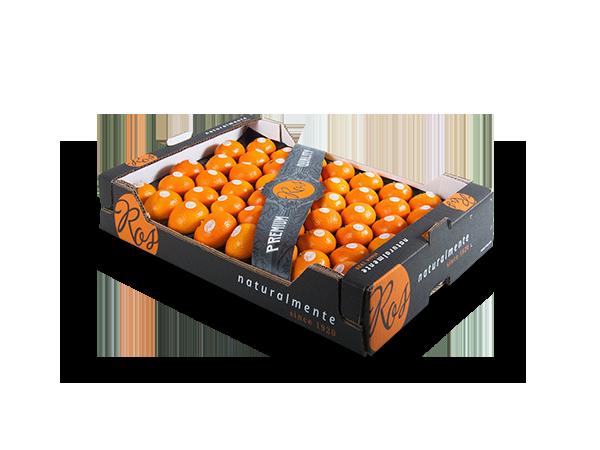 Clementinas sin hoja alveolo 60x40x10 cm