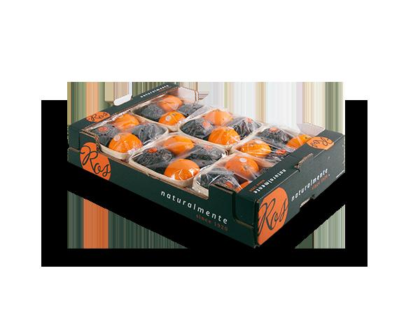 Naranja sin hoja 60x40x11cm flowpack